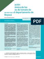 Caracterización Socioeconómica Productores de Tomate