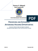 Preserving and Expanding Affordable Housing Opportunities