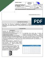 Especificaciones Para Correcta Operacion de Torq Sub