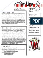 example weekly newsletter