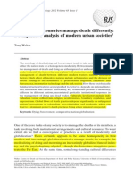 Why Different Countries Manage Death Differently