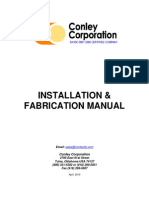 Conley Installation and Fabrication Manual