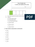 3.1 - Multiplicação de números racionais não negativos - Ficha de Trabalho (1)