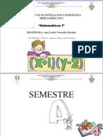 Portafolio de Evidencias Matematicas