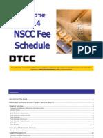 NSCC Fee Guide 2014