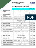 Horas de Oficina 2C-14-15