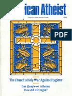 American Atheist Magazine Feb 1989