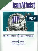 American Atheist Magazine Jan 1989