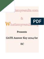 Gate 2014 Ec Morning