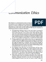 Communicate Ethics