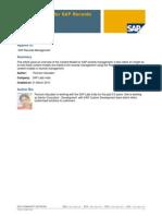 Content Model for SAP Records Management