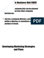 2 Developing Marketing Strategies