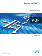 Power MOSFETs Selection Guide