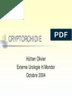 cryptrorchidie
