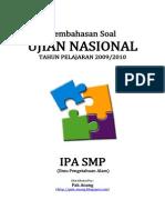 Pembahasan Soal UN IPA SMP 2010