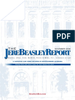 The Jere Beasley Report, Nov. 2006