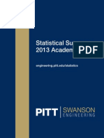 2013 Statistical Summary