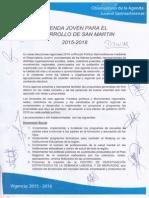 Agenda Joven Para Desarrollo de San Martín 2014