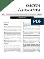 Gaceta Legislativa Veracruz No. 67