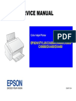 Epson CX5600 Service Manual