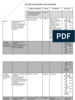 6th grade curriculum map