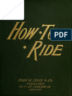 How to Ride 1891 Clar
