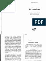 F. Van Steenberghen, Le Thomisme