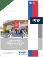 Orientaciones Para La Implementacion Del Modelo de Atencion Integral de Salud Familiar y Comunitaria. MINSAL Chile-OPS 2013