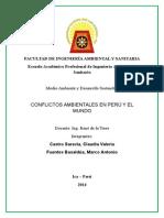 Conflictos Ambientales en Perú y El Mundo