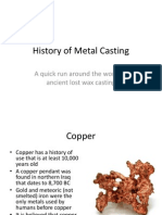 401 History of Metal Casting Early Lost Wax PDF