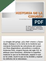 Historia de La Cirugia[1]