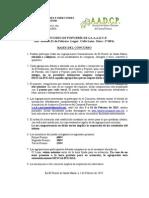 Bases II Concurso de Popurrí 2015
