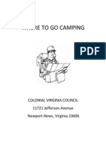 where to go camping guide