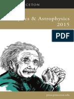 Physics & Astrophysics 2015
