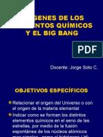 0.2.Origenes de Los Elementos Quimicos y El Big