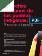 Derechos Humanos de Los Pueblos Indigenas - Panorama Colombiano
