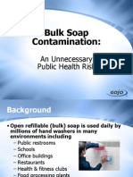 Bulk Soap Contamination