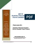 2013 ATC Hate Crimes Report