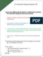 Criteriile SM (2005) International Diabetes Federation
