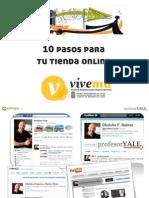 10 pasos a Tu Tienda Online