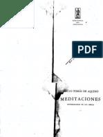 Tomás, Meditaciones (Ed. Original Emecé)