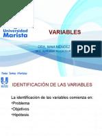 Introducción Variables