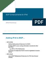 BGP for IPv6