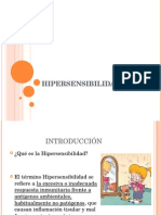 hipersensibilidad PH