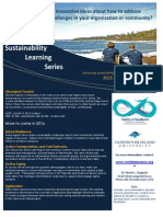 Sustainability Learning Series