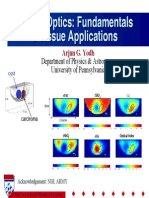 Diffuse Optics:fundamentail y tissue applications