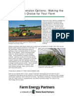 Season Extension Options for Gardening - Making the Right Choice for Your Farm; Gardening Guidebook for Maine