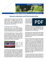 Season Extension & Frost Protection; Gardening Guidebook for Halifax, Nova Scotia, Canada