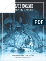 BLUEHOLME Prentice Rules 1 3 OSR RPG