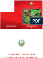 Hand Book on Treatment Guidelines for Snake Bite and Scorpion Sting